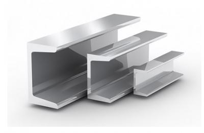 Швеллер АД31Т алюминиевый, п-образный 30x50x4x4000